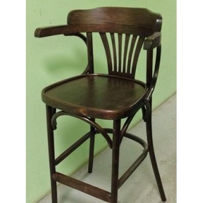 """Барный деревянный стул """"Роза-65"""", высота сиденья 65 см"""