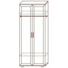 Шкаф для одежды МС-101