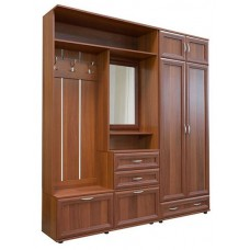 Шкаф для одежды МС-155/156, 200х39 см