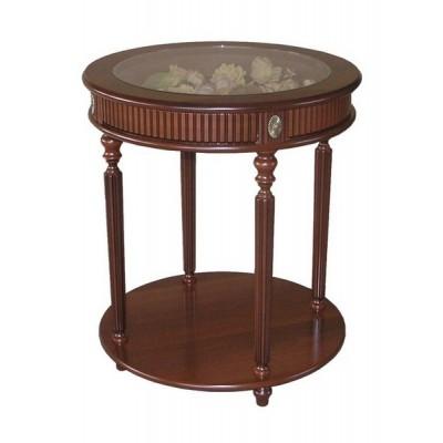 Кофейный стол МИЛАН-16 с круглой столешницей