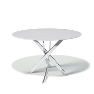 Стол обеденный KENNER R1200 WHITE, не раздвижной